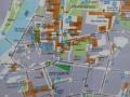 Plan der kompakten Altstadt von Innsbruck