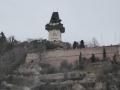 Freiblick zum Grazer Schlossberg
