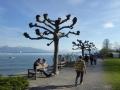 Uferpromenade auf der Insel