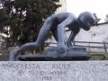Denkmal Cresta-Rider