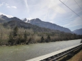 der Rhein bei Chur