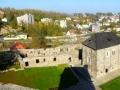 Blick auf die Burganlage vom Schwarzen Turm