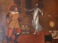 Wallensteins Ermordung als Gemälde