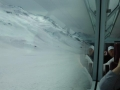 Fahrt über den Oberalp-Pass