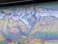 Panoramakarte Gornergratbahn