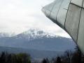 Blick von der Station Alpenzoo zur Serles