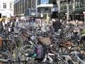 Rad-Parkplatz