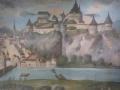 alte Ansicht der Festung