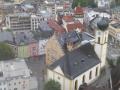 Blick zur Pfarrkirche