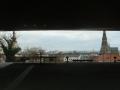 Blick vom Schloßmuseum zum Linzer Dom