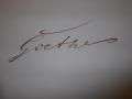 Goethe war Stammgast