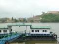 Donau - Blick auf die Festung Peterwardein