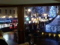 Blick vom  Cafe Maximilian auf den Hauptplatz