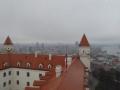 Blick vom Kronturm der Burg