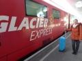mit dem Glacier-Express von St. Moritz über Chur und den ...