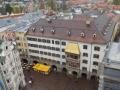 Blick vom Stadtturm auf den Platz vorm Goldenen Dachl