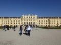 Blick vom Garten auf Schloss Schönbrunn