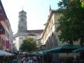 Fußgängerzone mit Stiftskirche