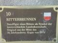 Ritterbrunnen Tafel Rottenburg