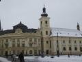 Hauptplatz Hermannstadt mit Rathaus