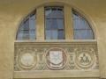 Wappen am Rathaus Hermannstadt