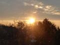 in Österreich geht die Sonne auf
