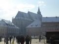 Hauptplatz Kronstadt mit Schwarzer Kirche