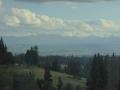 Hohe Tatra am Horizont