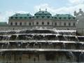 Oberes Belvedere Gartenansicht