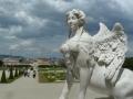 Blick vom oberen Belvedere auf Wien