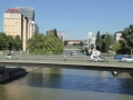 Blick auf den Donaukanal Richtung Urania
