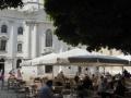 Schanigarten Cafe Restaurant Maria Treu  vor der Piaristenkirche