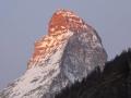 Morgen am Matterhorn
