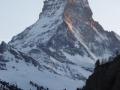 Abendrot am Matterhorn