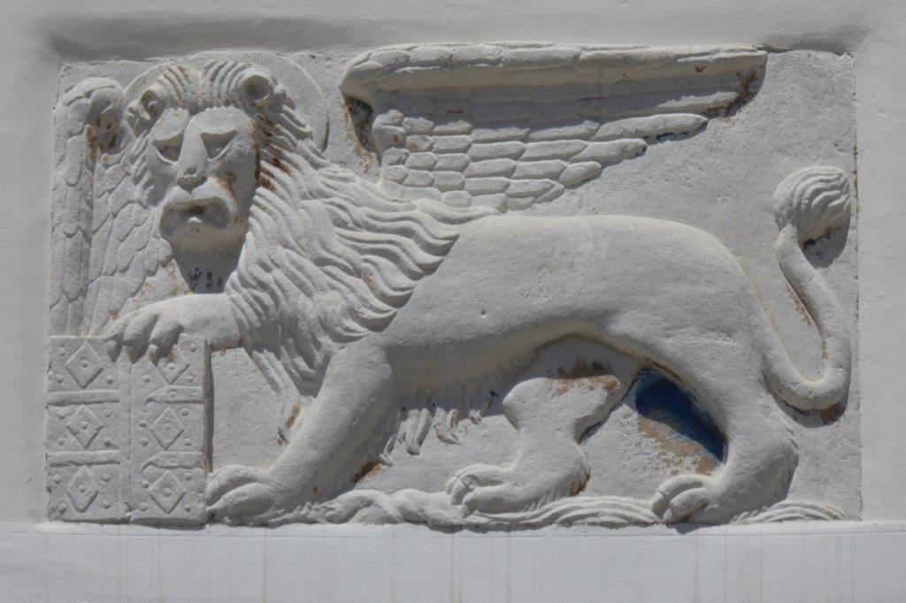 der venezianische Löwe