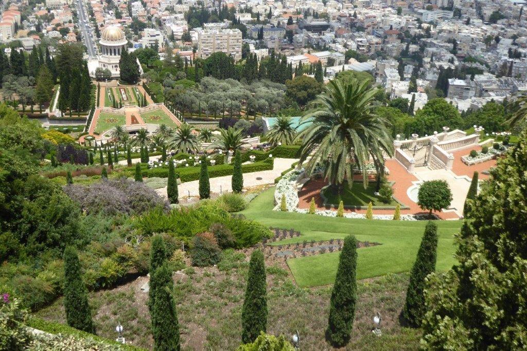 Hängende Gärten der Bahai in Haifa