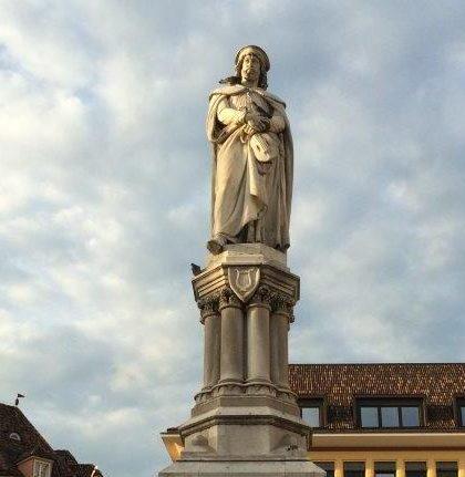 Walther Denkmal in Bozen