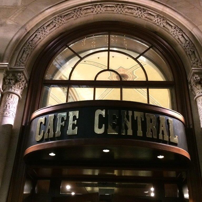 Cafe Central im Palais Ferstel