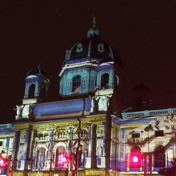 Kunsthistorisches Museum beim Fest des Lichts