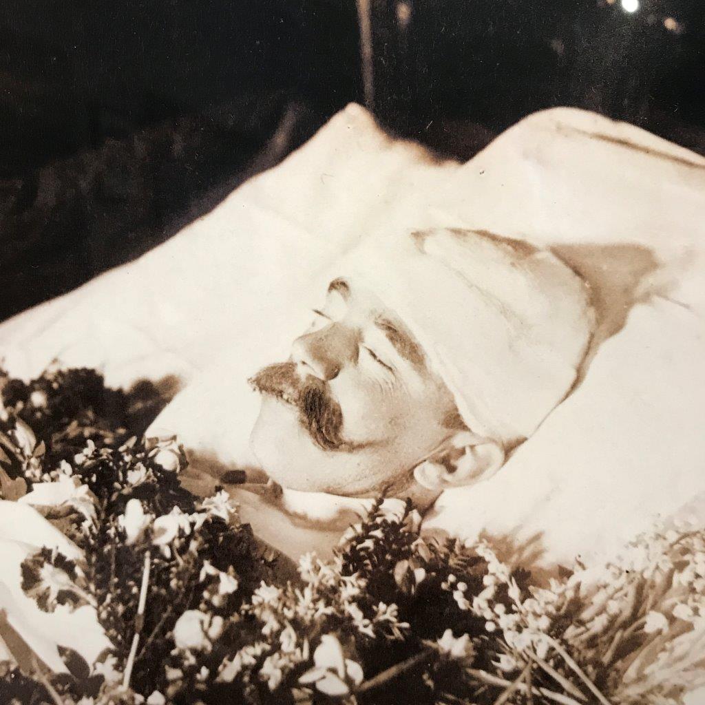 Kronprinz Rudolf am Totenbett