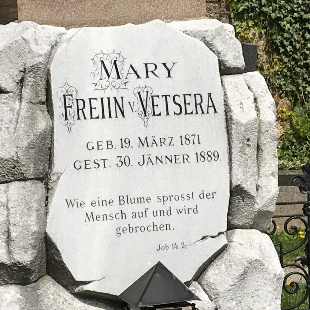 Grab von Mary Vetsera in Heiligenkreuz