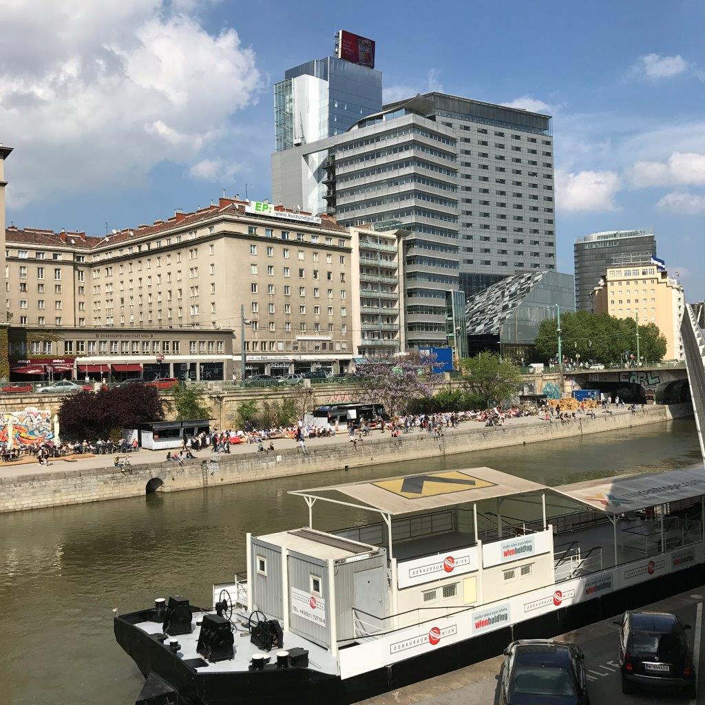 Donaukanal beim Schwedenplatz