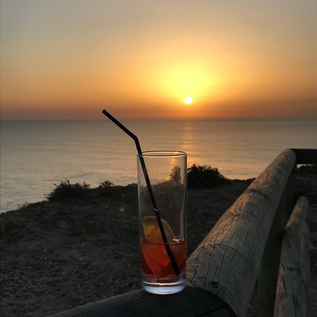 Sonnenuntergang in Arrifana
