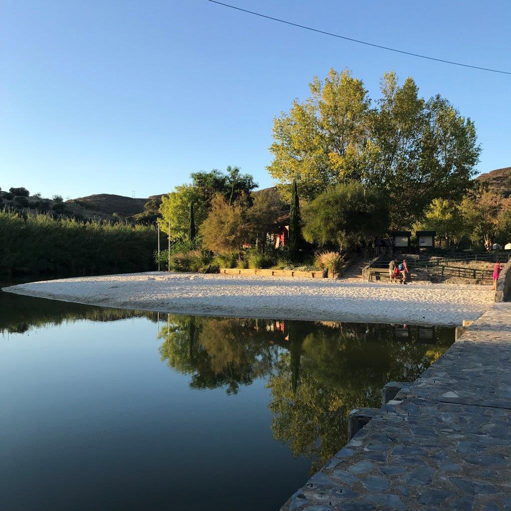Flussstrand von Alcoutim