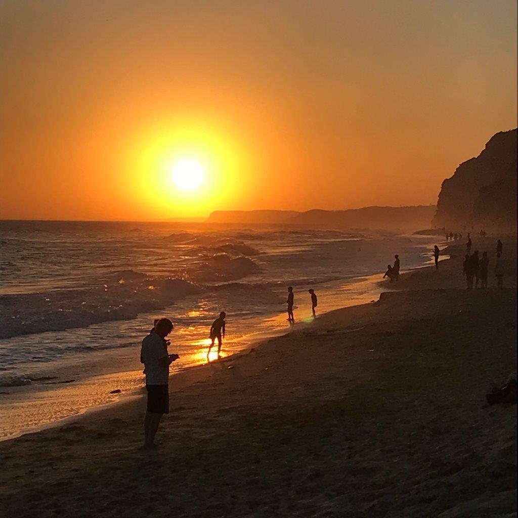 Sonnenuntergang an der Ponta da Piedade
