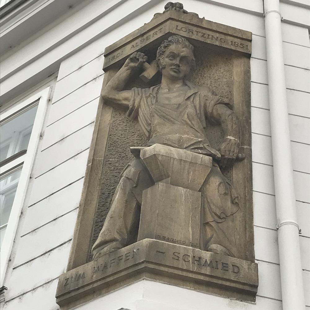 Relief Albert Lortzing