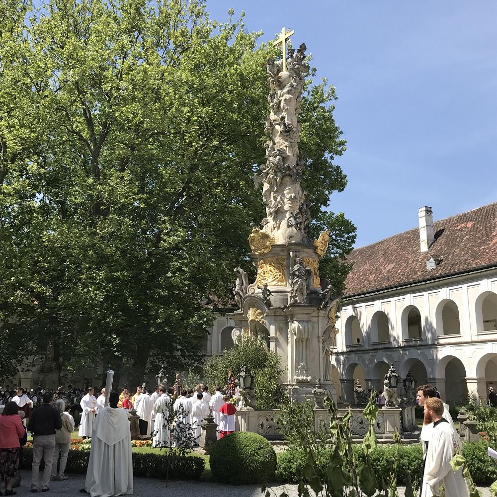 Fronleichnam Stift Heiligenkreuz