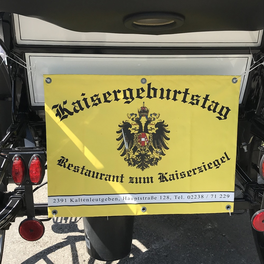 Kaisergeburtstag im Restaunrant Kaiserziegel in Kaltenleutgeben