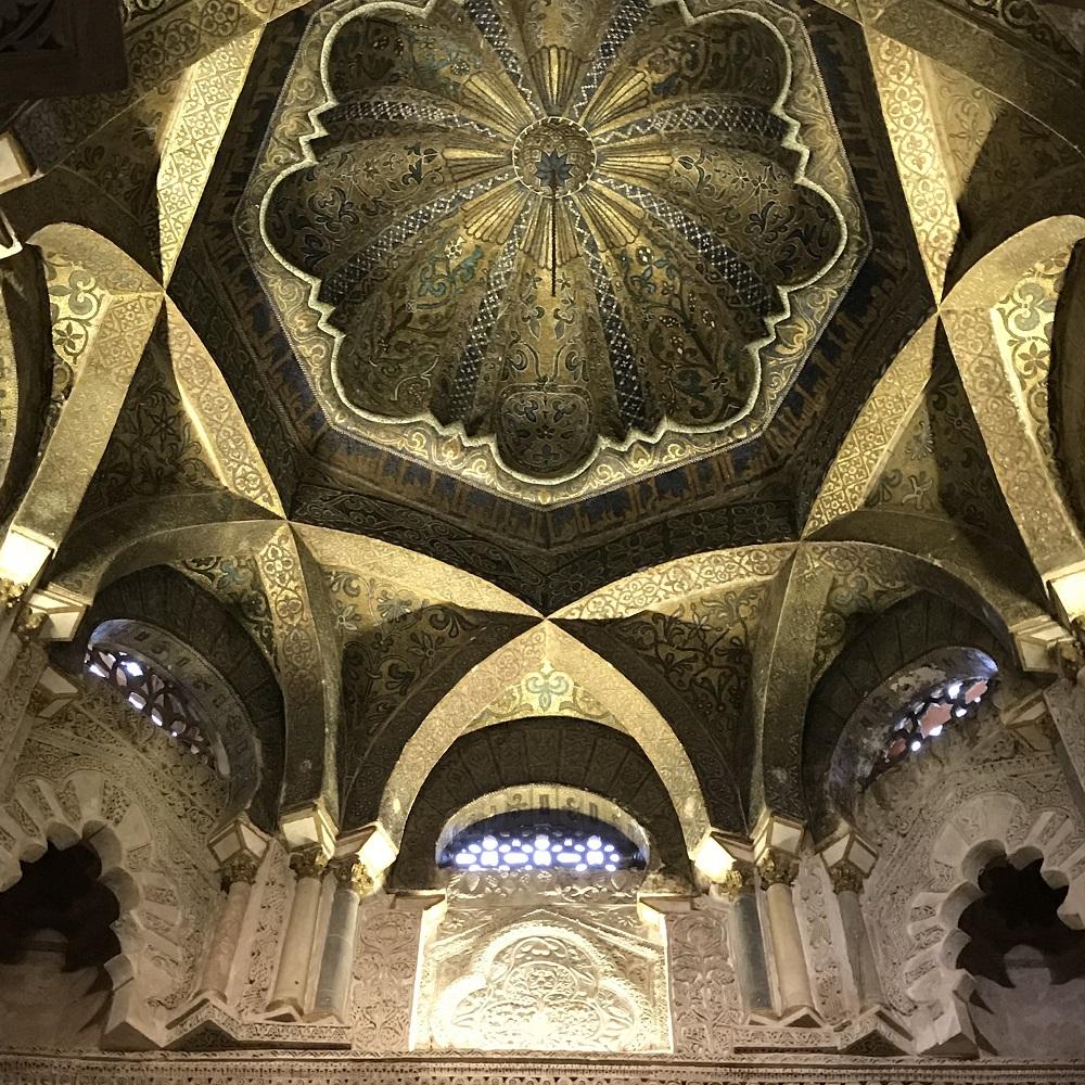 Kuppel der Moschee über dem Mihrab