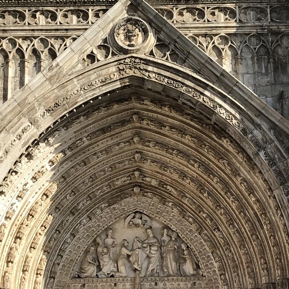 Portal der Kathedrale von Toledo
